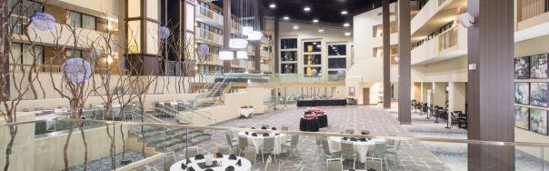 Interior photo of the Holiday Inn Little Rock Airport Conference Center