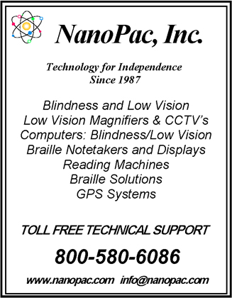 Ad for NanoPac, Inc.